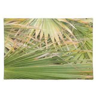 Hojas de palma salvamanteles