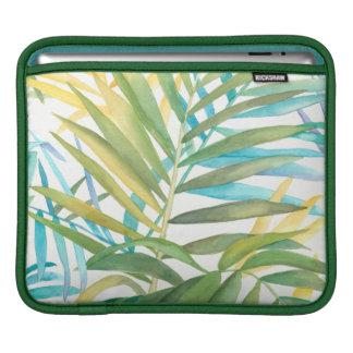 Hojas de palma tropicales funda para iPad