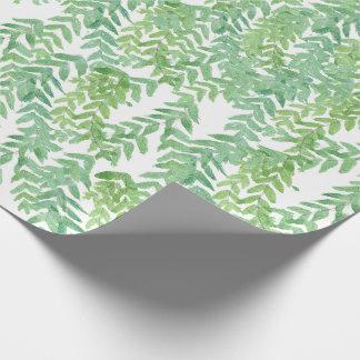 Hojas de Trpical wraping el papel