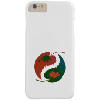 Hojas de Yin y de Yang Funda Barely There iPhone 6 Plus