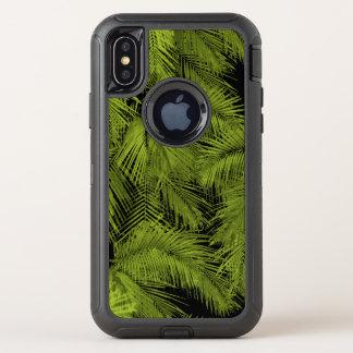 Hojas tropicales hawaianas de las palmas de Makana
