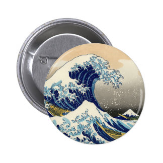 Hokusai el gran botón de la onda