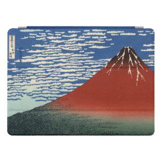 Hokusai Fuji rojo, viento del sur, cielo claro Cubierta Para iPad Pro