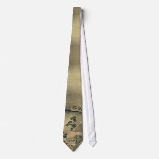 Hokusai - lazo del boda del Fox Corbatas Personalizadas