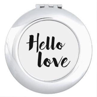 Hola amor espejos maquillaje