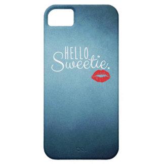 Hola BESO del Sweetie iPhone 5 Cárcasa