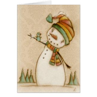 Hola Bluebird - tarjeta de Navidad