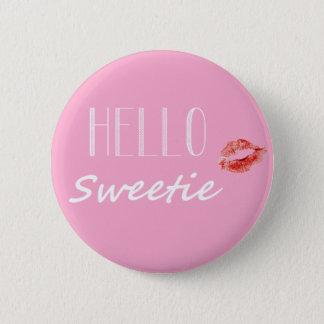Hola botón del Sweetie