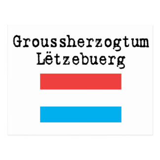 Hola de Luxemburgo Postal