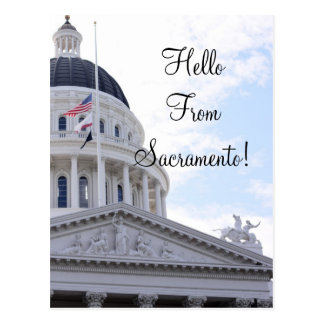 Hola de Sacramento Postales