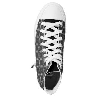 Hola diseño industrial del negro de zapato de la