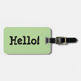 Hola etiqueta