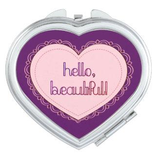 ¡Hola, hermoso! Espejos Compactos