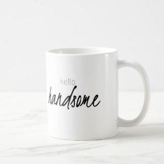 Hola hermoso taza de café
