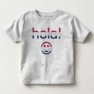 Hola hispanoamericano/Hola de los regalos + Cara Camisetas