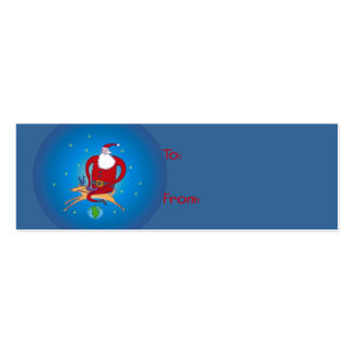 ¡Hola Ho Santa! Etiquetas del regalo Tarjetas De Visita Mini
