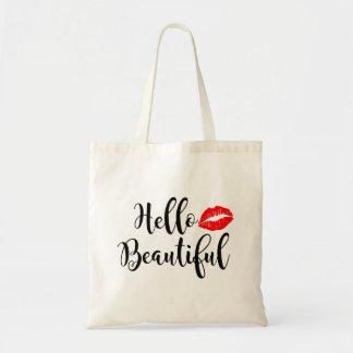 Hola la bolsa de asas hermosa