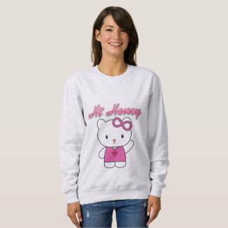 Hola la camiseta básica de la miel