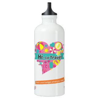 Hola-Lo botella de agua del viaje - blanca como la