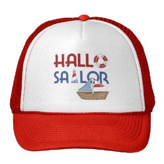 Hola marinero gorra