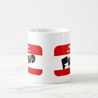 Hola, mi nombre es DEMONIO Taza De Café