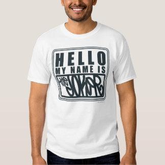 Hola mi nombre es el comodín camiseta