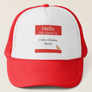 Hola mi nombre es gorra loco del camionero de la