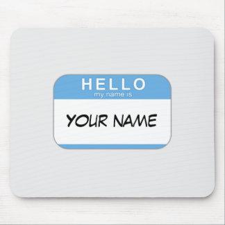 Hola mi nombre es Mousepad