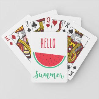 Hola naipes del verano