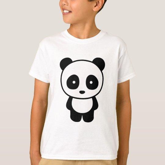 Hola panda camiseta