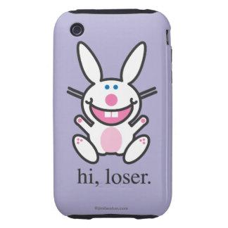 Hola perdedor iPhone 3 tough protectores