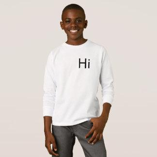 Hola puente de la camiseta