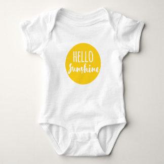 Hola sol body para bebé