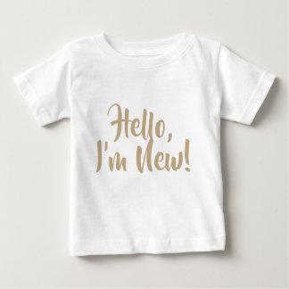 ¡Hola, soy nuevo! Camiseta