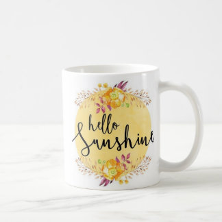 Hola taza de la sol