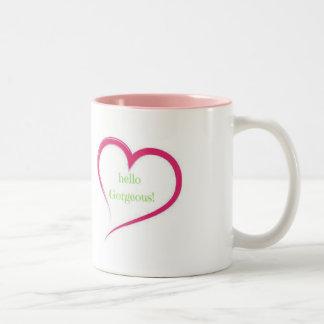Hola taza magnífica