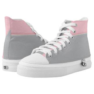 Hola-Top rosado y de plata del Dos-Tono del puño