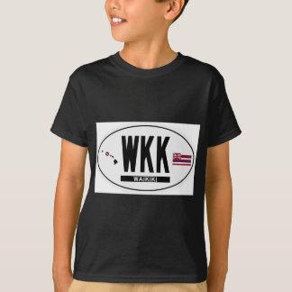 Hola-WAIKIKI-Pegatina Camiseta