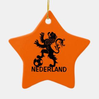 Holanda Adorno Navideño De Cerámica En Forma De Estrella