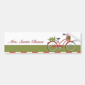 holidaybike1c pegatina de parachoque