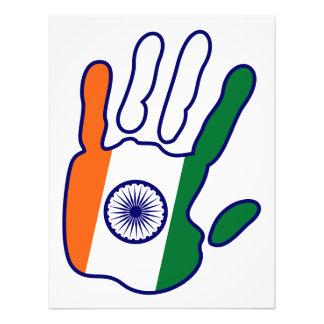 holiES - mano de la bandera de la India para su Impresiones Fotograficas