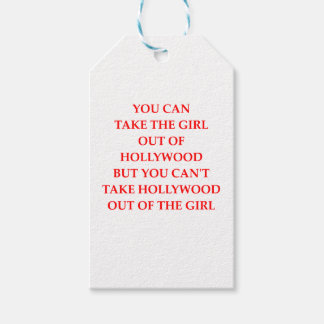 HOLLYWOOD ETIQUETAS PARA REGALOS