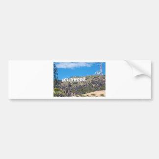 Hollywood Hills Pegatina Para Coche