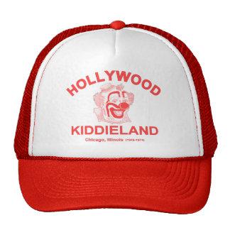 Hollywood Kiddieland, Chicago, IL. Parque de atrac Gorros Bordados