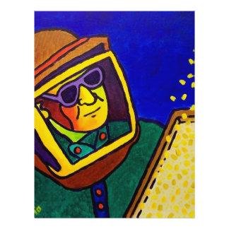Hombre 2 de la abeja por Piliero Tarjeta Publicitaria