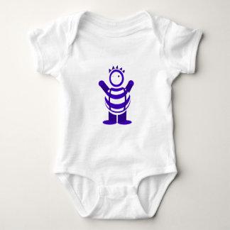 Hombre azul body para bebé