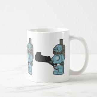 Hombre azul de Steampunk Taza Clásica