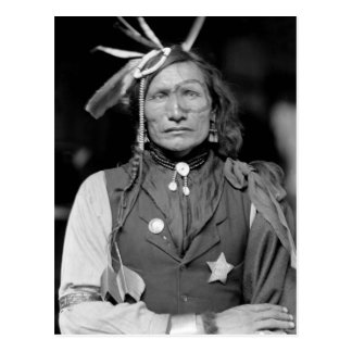 Hombre blanco del hierro: 1900 postal