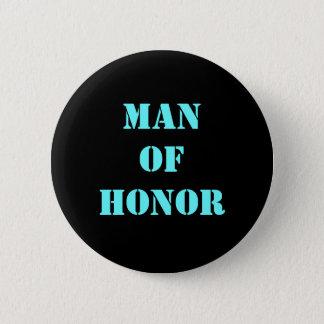 Hombre de honor chapa redonda de 5 cm