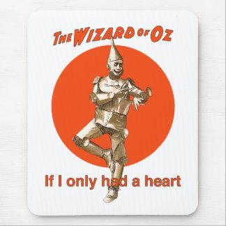 Hombre de la lata de mago de Oz Alfombrilla De Ratón